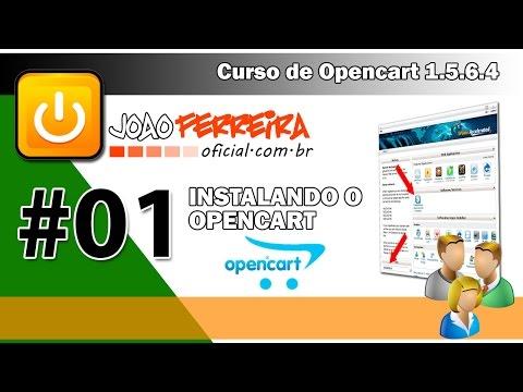 OPENCART - FAZENDO A INSTALAÇÃO - AULA 01