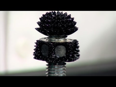 Ferro Fluid Tests - Magnetic Liquid