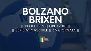 Serie A1M [6^]: Bolzano - Brixen 31-23