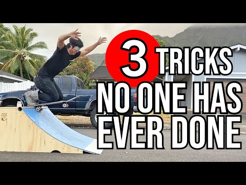 3 TRICKS THAT HAVE NEVER BEEN DONE BEFORE
