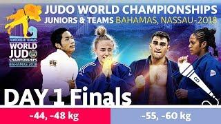 World Judo Championship Juniors 2018: Day 1 - Final Block