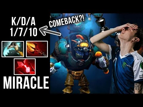 Miracle- Tinker From LOL to GOD Comeback?! - Dota 2
