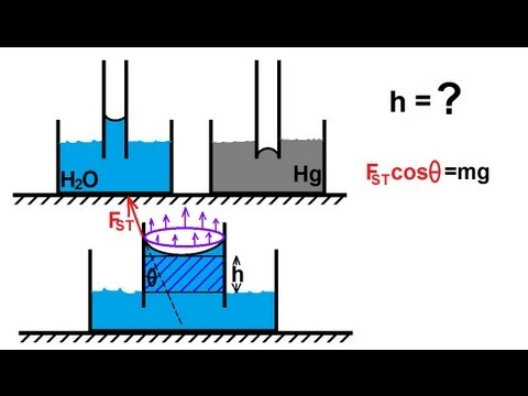 capillarity surface tension and liquid surface View homework help - surface tension of liquids capillary rise method (2)  from en 246 at united states naval academy surface tension capillary rise.