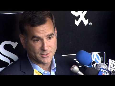 Rick Hahn discusses decision to DFA John Danks