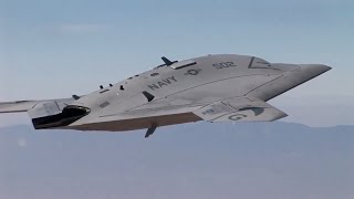 Northrop Grumman  Two X-47B UCAS Completed Air Worthiness T