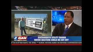 The Black Brother Battles a Liberal on the California Water Drought