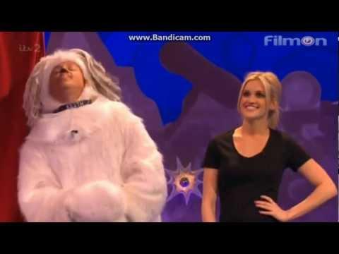 Ashley Roberts on Celebrity Juice PART 2
