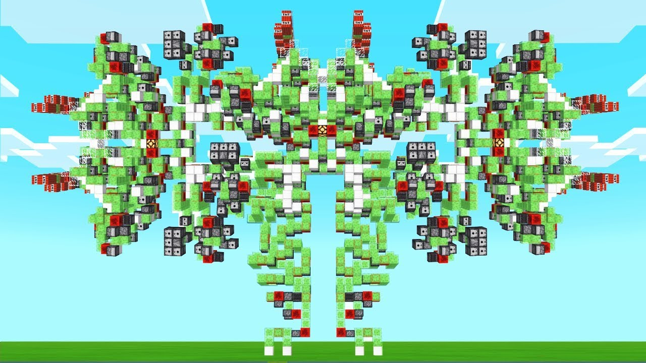 WORLD'S BIGGEST MINECRAFT ROBOT!