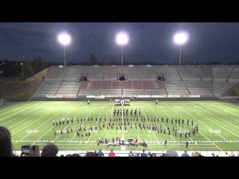 2014 Mt. Spokane High School Marching Band - Pacific NW Marching Band Championships Finals