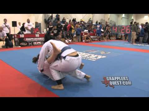 Jessica Rodriguez vs Delaney Owen at Grapplers Quest Fl. State Championships 2012