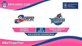 LIVE - Scorpio Jakarta vs Tanago Friesian Jakarta UII-Playoffs Srikandi Cup 2019 - Group Stages