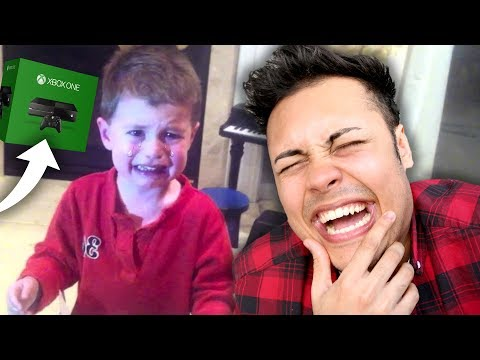 REACTING TO KIDS CRYING OVER BAD CHRISTMAS PRESENTS !!! (SO FUNNY)