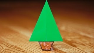 Easy Origami Christmas Tree In [under 90 Seconds]