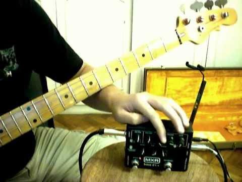 MXR M-80 Bass D.i.+ w/ G&L L2000