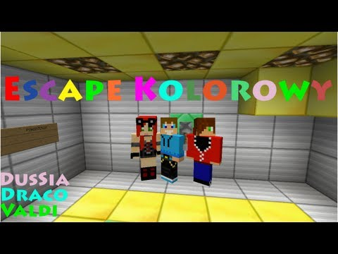 Minecraft Escape #6 Kolorowy Escape