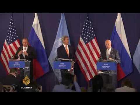 John Kerry claims progress in talks on Syria
