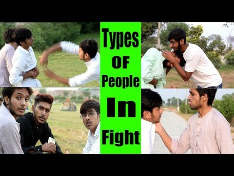 Fight : Types OF People In Fight || Liar Fun || Ahmad || #Fight #On_Tranding