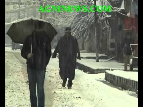 SRINAGAR.. FRESH SNOW FALL .