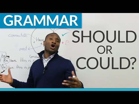 "Learn English Grammar: Modals – ""could"" or ""should""?"