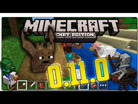 MINECRAFT POCKET EDITION (MCPE) 0.11.0 | REVIEW MINECRAFT PE 0.11.0