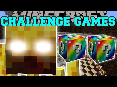 Minecraft: BLAZE TITAN CHALLENGE GAMES - Lucky Block Mod - Modded Mini-Game