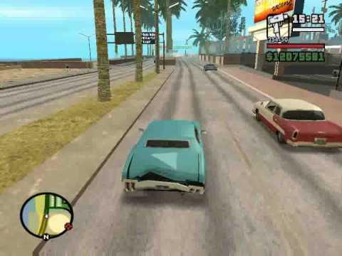 GTA San Andreas - Paseando en autos tuneados