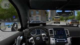 City Car Driving - Toyota Land Cruiser 200 + (Download link!)