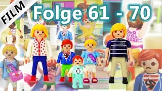 Playmobil Film Deutsch | Folge 61-70 | Kinderserie Familie Vogel | Compilation