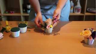 OASIS® Floral Cupcakes ~ Sweet Suprise