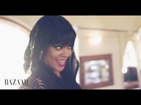 Rihanna for Harper's Bazaar Arabia July/August 2014 by Ruven Afanador