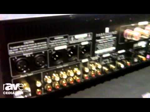 CEDIA 2014: Parasound Shows Halo Integrated Amplifier – First Integrated Amp It's Made In 20 Years