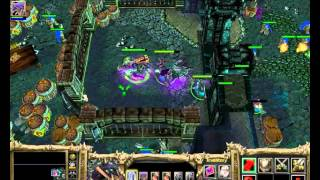 Warcraft 3 Frozen Throne - Undead Campaign Speedrun By Jury Rosenkilde Part 07