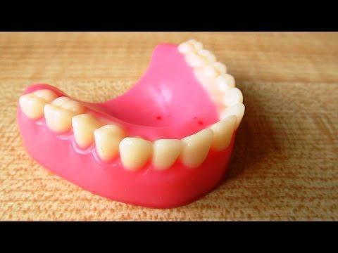 Съедобные человеческие челюсти на Хеллоуин! DIY