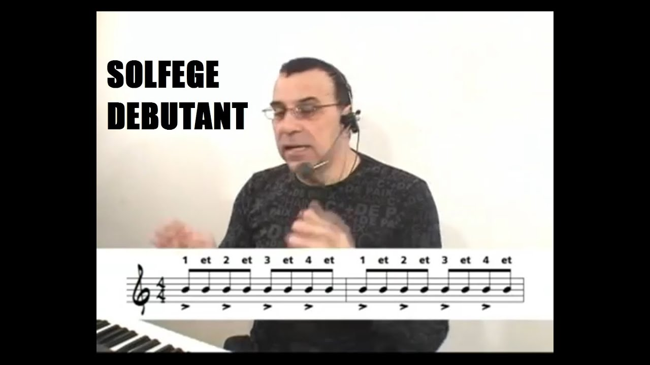 Lecon de piano a queue - 1 part 1