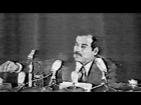 Saddam Hussein's Very Public Purge