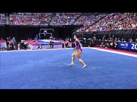 Jordyn Wieber - Floor - 2012 Visa Championships - Sr. Women - Day 2