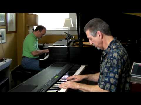 7notemode and Lot2Learn - Together!  Autumn Leaves Jazz Piano Duo