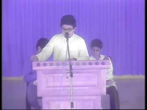 Sahithya Samajam-6  speech by Fahim