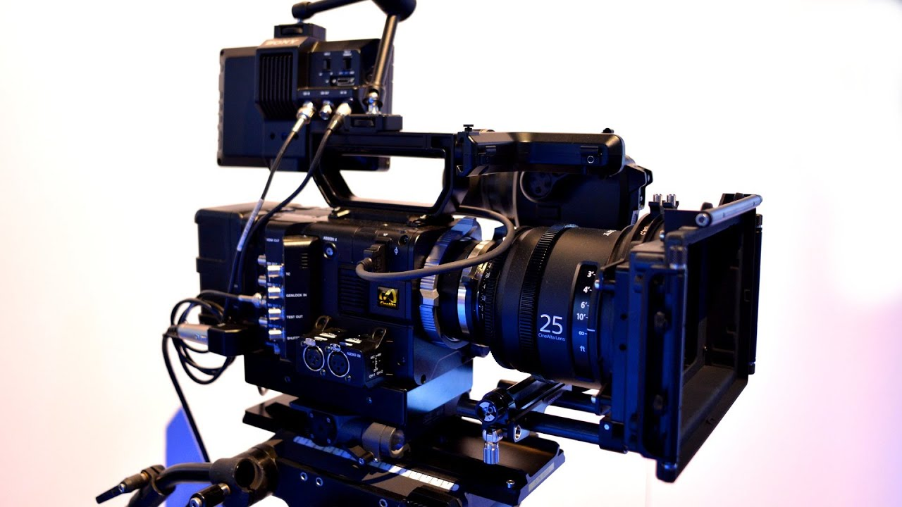 Sony Cinema Camera $33,000 Cinema Camera Sony