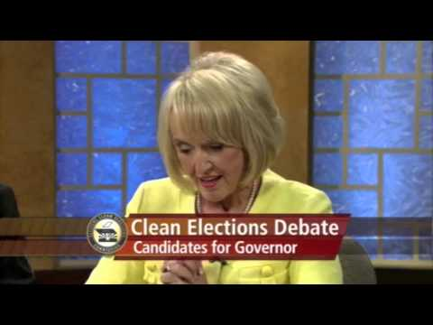 Jan Brewer's opening statement excerpt from the ONLY gubernatorial debate