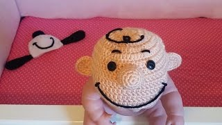 Charlie Brown Inspired Beanie
