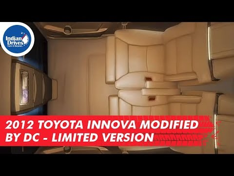 2012 Toyota Innova Modified by DC - Limited Version