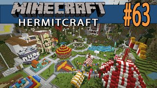Minecraft Theme Park Railway - Hermitcraft #63
