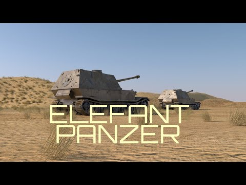 Desert Order Elefant Tank english