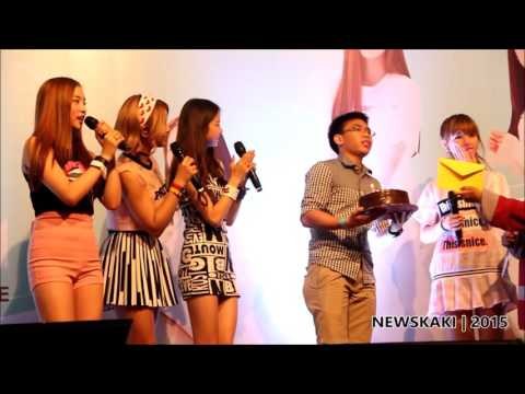 """Seung Hee's Birthday Celebration - CLC """"First Love"""" Promo Tour in Malaysia @ Berjaya Times Square"""