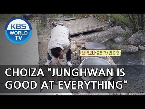 """Choiza """"Junghwan is good at everything!"""" [Uncles Gathering Greens/ 2018.05.16]"""