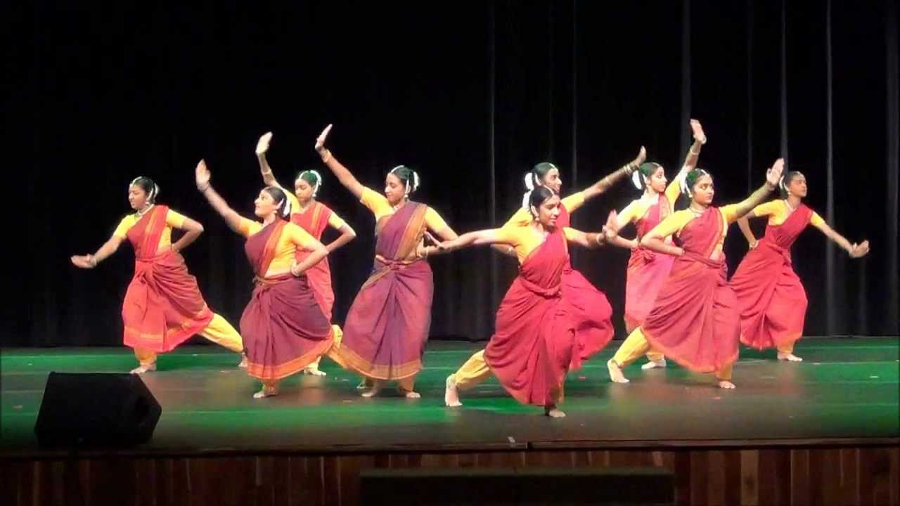 Bharatanatyam Dance Group Bharatanatyam Thillana Group
