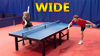 Wide Ping Pong