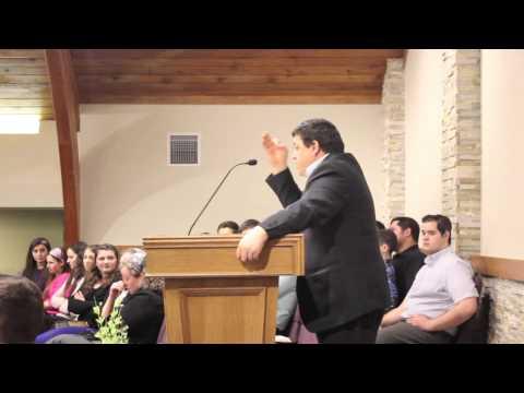 Fratele Dragos Croitoru la Biserica Bethel din Portland Oregon