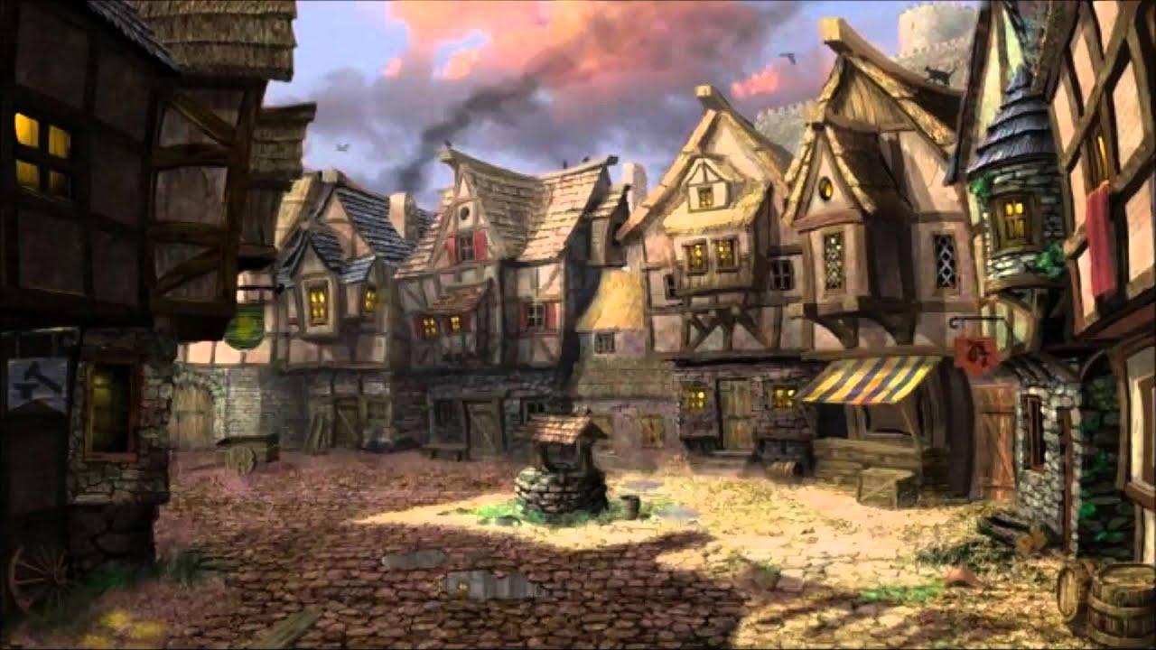 Fantasy slave town erotic image